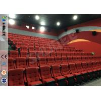 China Real Feeling Large Screen Hd 3D Cinema System For Holding 40 People factory