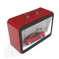China TFT Type Transparent LCD Screen , Transparent Lcd Box With Portable Handle factory
