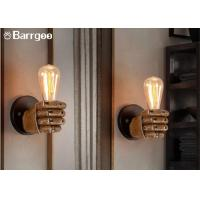 Buy cheap Fist Shape Bedroom Loft Indoor LED Wall Lights Sconce LED Edison Style Home from wholesalers