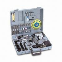 Buy cheap 48-piece Air Tool Kit, Includes Grinder, Drill, Sander, Wrench, Coupler and Nipples from Wholesalers
