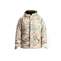 Buy cheap Waterproof Military Tactical Camo Jacket , Multicam Winter Coat Abrasion Resistant from Wholesalers