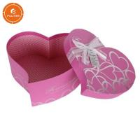 Buy cheap Decorative gift box with ribbon heart shaped pretty chocolate case from wholesalers