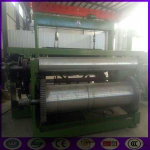 China Stainless steel big wire window screen weaving machine factory