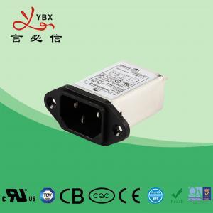 China Medical Equipment EMI Power Filter / 10A 120V/250V EMI EMC Line Filter factory