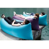 Outdoor Camping Inflatable Sleeping Bag Air Sofa Hangout  With Logo Printed