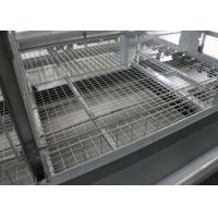 China 4 Tiers A Type Chicken Cage Holding Poultry Electrostatic Spraying Treatment factory