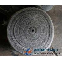 China High Efficient Type Knitted Wire Mesh, 300-600 Model, 0.1-0.3mm Wire factory