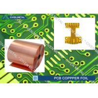 China Roll Size S - HTE Electrolytic Copper Foil For PCB Made Of Red Copper factory