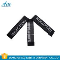 China Good Feeling - Touch Custom Printed Clothing Labels , Soft Woven Garment Labels factory