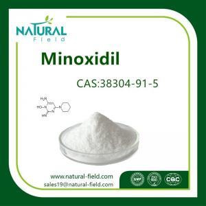 China Preventing hair loss minoxidil Minona powder CAS:38304-91-5 factory