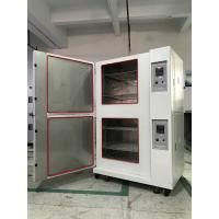 China Stackable Climatic Test Chamber Glass Fiber Insulation Single Stage Compression Refrigeration factory