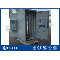 Buy cheap 40u Galvanized Steel Outdoor Electronic Equipment Enclosures Front Rear Access from wholesalers