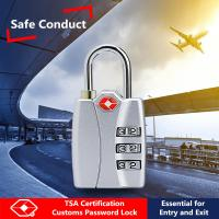 Buy cheap Luggage Use TSA Combination Padlock With High Shear & Perturbed Performance from Wholesalers