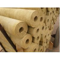 China Soundproof rock wool pipe insulation factory
