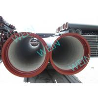 Buy cheap Pipeline Potable Cement Mortar Lining Pipe Centrifugal Cast 5.7M / 6M Length from Wholesalers