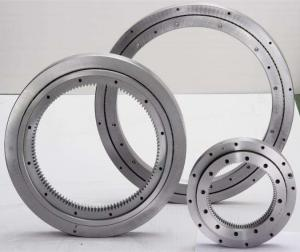 China Single Row Crossed Cylindrical Roller 62HRC Slewing Ring Bearing factory