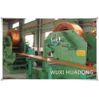 High Effency Ccm Continuous Casting Machine For Brass Cooper Rod Billet Stripe for sale