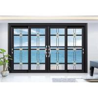 China Dust Resistant Aluminium Frame Glass Door For Office Conference Room Balcony factory