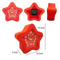 China star shape alarm clock table clock on sale
