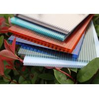 China Multiwall Polycarbonate Roofing Sheets Construction Material Eco Friendly factory
