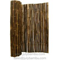 Buy cheap Black Bamboo Fence roll from Wholesalers