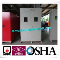 China Flammable Industrial Safety Cabinet For Cylinder Storage , Cylinder Safety Storage Cabinet factory