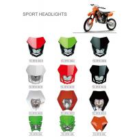 Buy cheap Various Colors Led Motorcycle Driving Lights , Led Motorcycle Headlight New ABS Material from Wholesalers