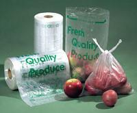 China Fruit seal bags, seal bags, c-fold bags, bags on roll, roll bags, produce roll, HDPE sacks factory