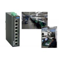 Buy cheap High reliablity VLAN division RJ45 8 port poe switch , 1.6Gbps industrial unmanaged ethernet switch from wholesalers