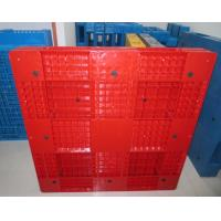 1200x1000x150mm flat and bottom decussation plastic pallet in China