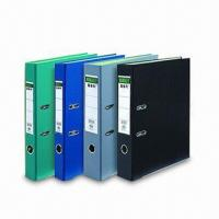 China Lever Arch File with PVC Cover, OEM and ODM Orders are Welcome factory