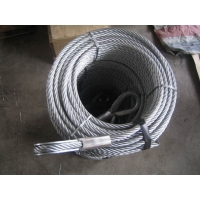 China Thimble On Both Ends 2.46t Wire Rope Cable Slings factory