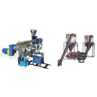 Buy cheap PVC Polyethylene Extruder Machine , Plastic Pelletizing Equipment For Wires Materials from Wholesalers