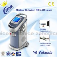 China Portable Laser Tattoo Removal Machine With High Energy For Dermatology Beauty on sale