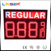 China IP65 Waterproof Electronic LED Gas Price Display Customized Design factory