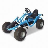 China Go Kart with Adjustable Seat Position and Forward/Reverse Gear factory