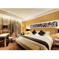 Quality Luxury Optional New Hotel Bedroom Furniture Sets Highly Endurable Solid Surface wholesale