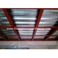 Buy cheap Wind Resistant Office Mezzanine Structures Fast Building Construction from Wholesalers