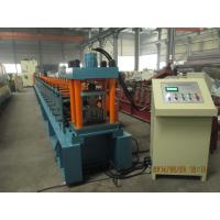 Buy cheap PLC Automatic Metal Roll forming Machine For Supermarket Shelves from Wholesalers