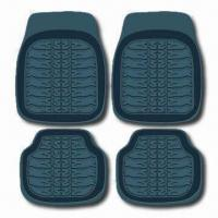 China Black Car Mat with Universal Design that Fits All Car Models, Made of Rubber factory