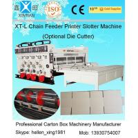 Buy cheap Auto Chrome Carton Making Machine 60pcs/min With Chain Feeding Model For Printing from Wholesalers