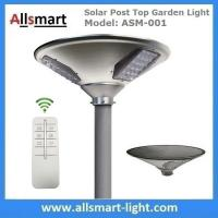China New 15W 1500lm UFO Solar Garden Lights All In One Parking Lot Lamp Solar Energy Products With 30W Solar Panel Aluminum on sale
