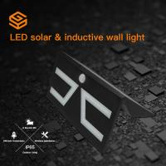Buy cheap Cool White Solar Garden Lights 6000k Super Bright Motion Sensor Wall Lamp Rainproof from Wholesalers