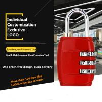 Buy cheap Small Multi Colored Luggage Combination Padlock Custom Logo Available from Wholesalers