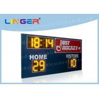 China Multifunctional  Wire and Wireless Controller Led Electronic Scoreboard for Outside Stadium factory