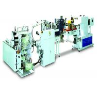 Buy cheap Mini / Standard Pocket Tissue Production Line With Bundling Packer CE Certification from Wholesalers