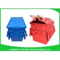 Buy cheap Plastic Storage Attach Lid Containers 600 * 400mm Assorted Height from Wholesalers