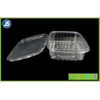 Buy cheap Salad Clear Plastic Food Packaging Trays / thermoformed plastic trays from Wholesalers