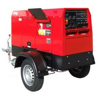 Buy cheap Mobile Japan Kubota Diesel Welder Generator 400amp With Two Wheeled Trailer Arc Welding Source from Wholesalers