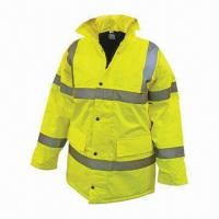 Buy cheap Disposable Work Wear, Made of Spandex/Polyester Material, Customized Logos Welcomed from Wholesalers